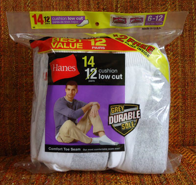 Hanes 14pairs cushion low cut