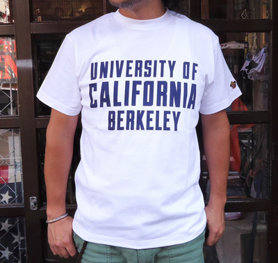 【UC BERKELEY】プリントTシャツ - UNIVERSITY OF CALIFORNIA BERKELEY ホワイト