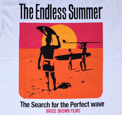 BRUCE BROWN FILMS The Endless Summer エンドレスサマーTシャツ