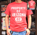 BUDDY 別注 RUSSELL ATHLETIC Tシャツ PROPERTY OF ARIZONA