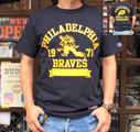 BUDDY 別注 RUSSELL ATHLETIC Tシャツ PHILA-BRAVES
